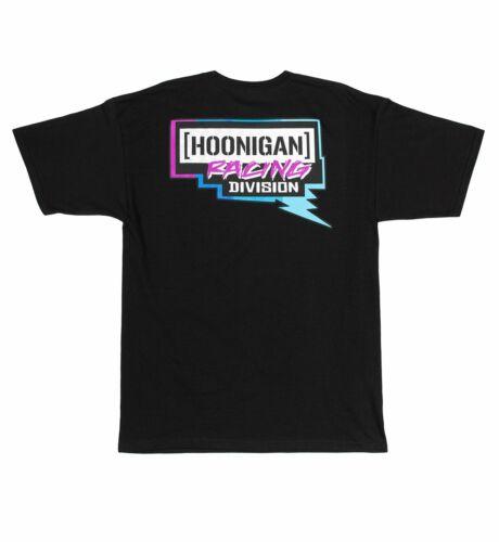 2019 Hoonigan HRD19 BOLT SS Mens T-Shirt Short Sleeved Tee Black Sizes S-XXL