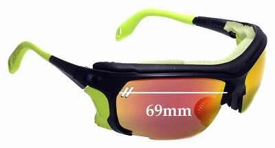 SFx Replacement Sunglass Lenses fits Julbo Trek 69mm Wide