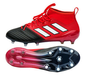 low priced f1151 7a8c6 Details about Adidas ACE 17.1 Primeknit FG BB4316 Soccer Football Cleats  Shoes Boots Red Limit