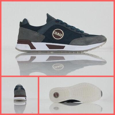 COLMAR ORIGINALS scarpe uomo TRAVIS ORIGINALS 002 col.BLUGRIGIO inverno 2018 | eBay
