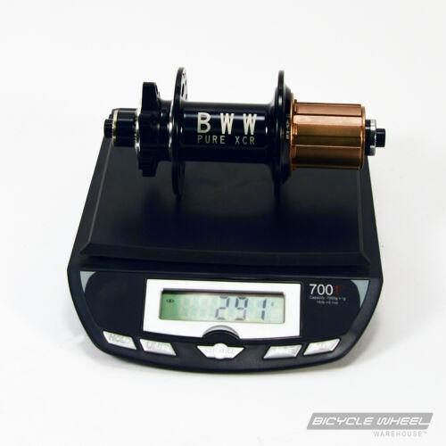 Mountain Bike Sealed Bearing 8//9//10 Speed 32H Pure XCR MTB Disc Black Hub Set