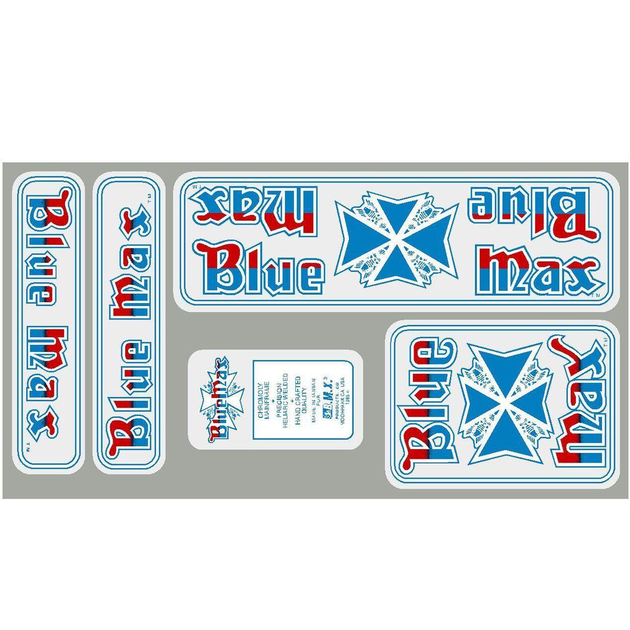 1986 blueeeeeeeee Max Decal set
