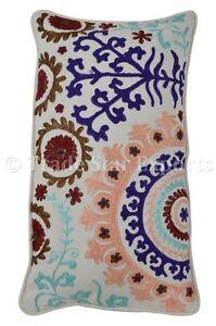 Vintage-Suzani-Pillows-Throw-Cotton-Pillow-Case-Embroidered-Pillow-Cover-Cushion