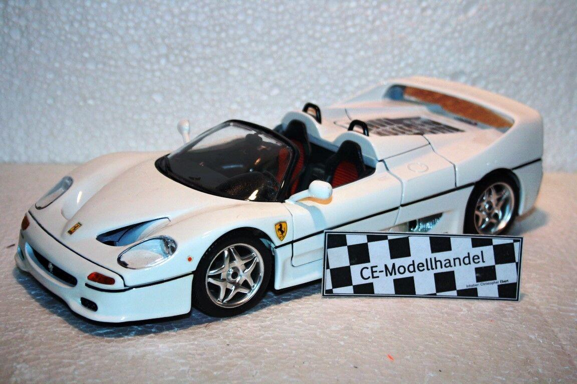 las mejores marcas venden barato Ferrari f50  1995  Bburago    1 18  blancoo  directo de fábrica
