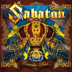 SABATON-CAROLUS-REX-SWEDISH-VERSION-CD-NEU