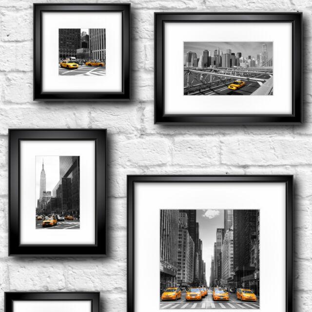 NYC New York City blanc mur de brique USA dans cadres Muriva Caractéristique Papier Peint 102534