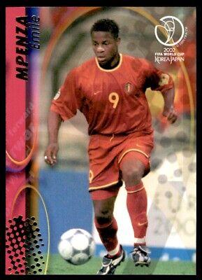 Panini coupe du monde 2002 cartes-Belgique EMILE MPENZA Nº 30
