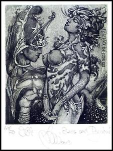 Agirba Ruslan 2013 Exlibris C3 Eros and Psychea Erotic Erotik Nude Woman Sex 342 -  Dabrowa, Polska - Agirba Ruslan 2013 Exlibris C3 Eros and Psychea Erotic Erotik Nude Woman Sex 342 -  Dabrowa, Polska