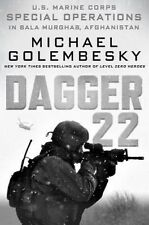 Dagger 22: U S Marine Corps Special Operations Bala Murghab, Afghanistan HC NEW