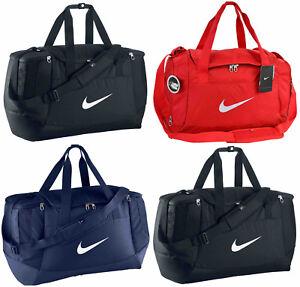 de4ee494b5ae Image is loading Nike-Club-Swoosh-Team-Bag-Duffel-Sports-Holdall-