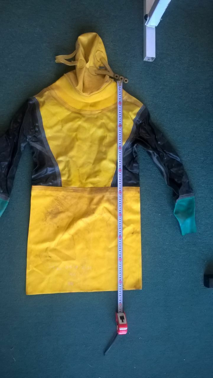 Soviet Russian diving drysuit   Sadko  See photos size XXL  new sadie