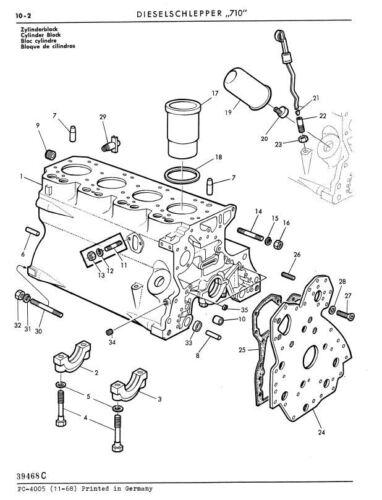Ersatzteilliste Ersatzteilkatalog CD-Rom zum Traktor John Deere-LANZ 710