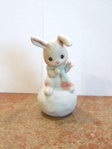 PR4 Enesco Precious Moments Snowbunny Loves You Like I Do #183792 NEW IN BOX
