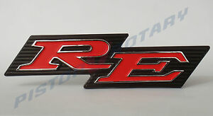 RE-Rear-Garnish-Badge-NEW-for-ROTARY-MAZDA-CAPELLA-13B-10A-12A-RX2-RX3-COUPE