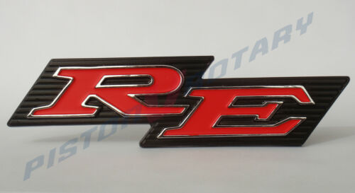 for ROTARY MAZDA CAPELLA 13B 10A 12A R100 RX2 RX3 COUPE RE Grille Badge NEW