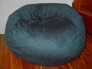 Faux Suede Dark Green  Kid Adult Bean Bag Beanbag Chair SHELL ONLY New