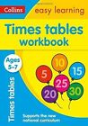 Times Tables Workbook Ages 5-7: New Edition (Collins Easy Learning KS1) by Collins Easy Learning (Paperback, 2015)
