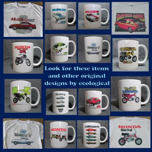 1972 Dodge Charger Line Coffee Cup New Classic 70/'s Mopar Mug Sharp!