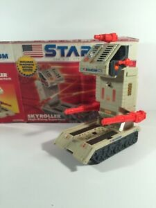 Skyroller-High-Rising-Supertank-Vehicle-100-Complete-Starcom-1986-Coleco