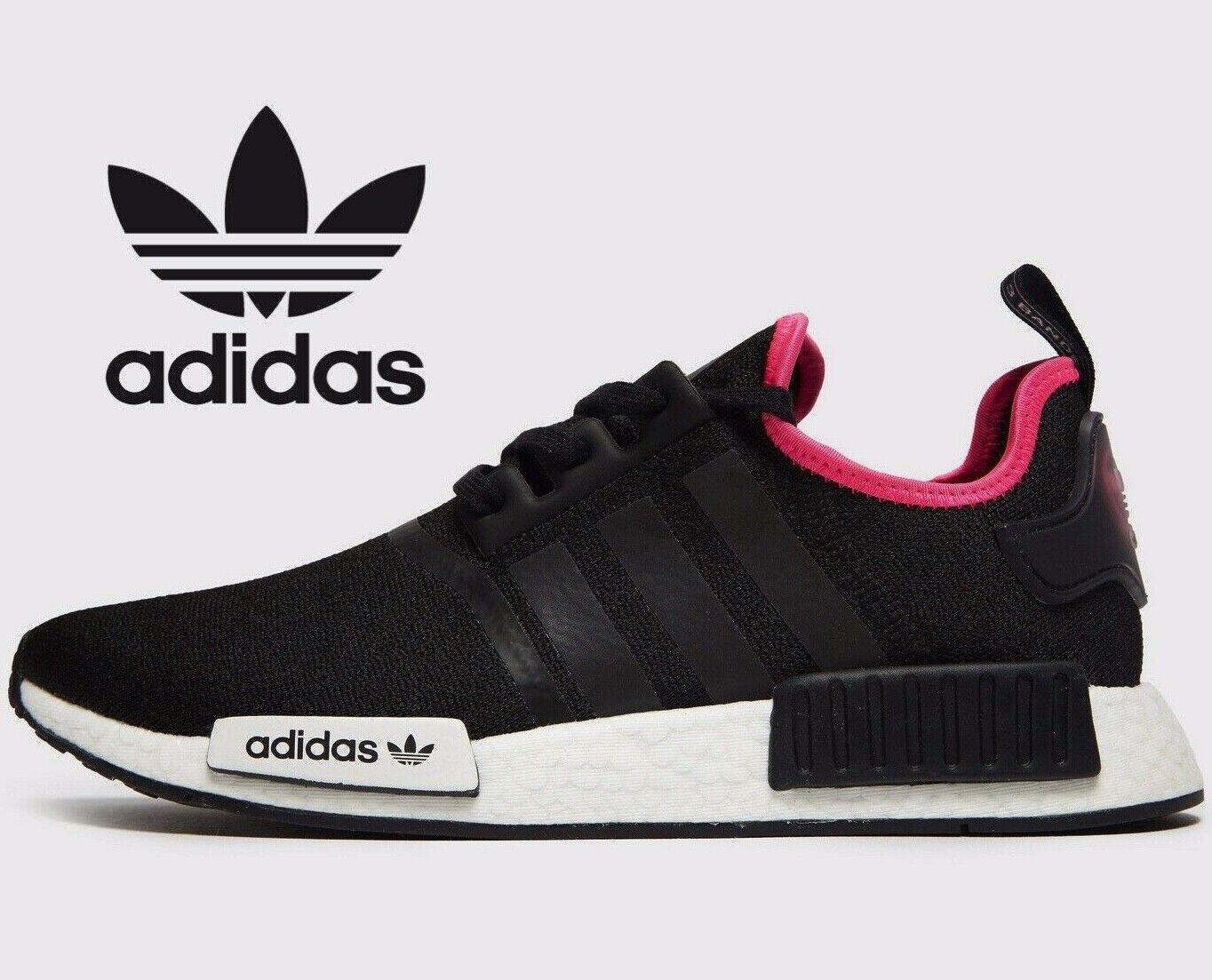 Genuine Adidas Originals NMD XR1 ® (Hommes Taille UK 11 EUR 46) Noir Blanc