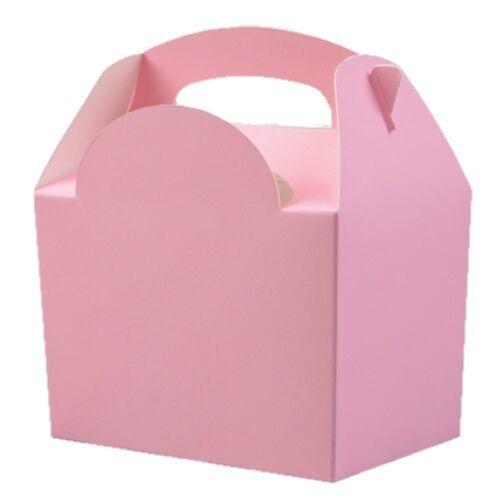 12 enfants lumière rose layette transporter repas nourriture pique-nique box-Fête D/'Anniversaire boîtes