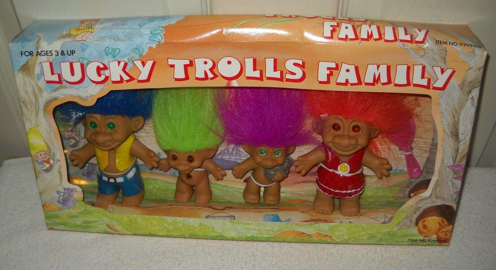 Nrfb Lucky Lucky Lucky trols familiar de 4 Set En Caja  Venta en línea precio bajo descuento