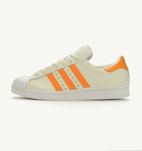 Baskets Beige Orange 5 Taille 4 Femme Adidas 80's 5 Superstar Originals Clair XqXrF0x
