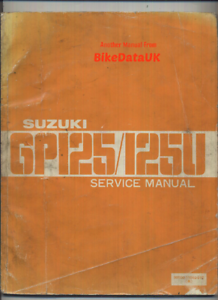 repair manual suzuki tc100