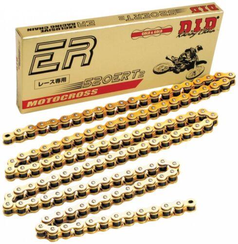 ETC DID GOLD ERT2 CHAIN 520 X 120 HONDA 300EX 400EX 300X 400X 450R 450ER ATC185
