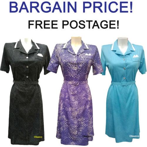 Robe d/'été pour la vieille femme vintage Robes Dames âgés tailles 12-26