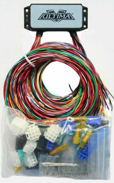 ultima plus compact electronic wiring harness kit bobber chopper harley  18-533 for sale online | ebay  ebay