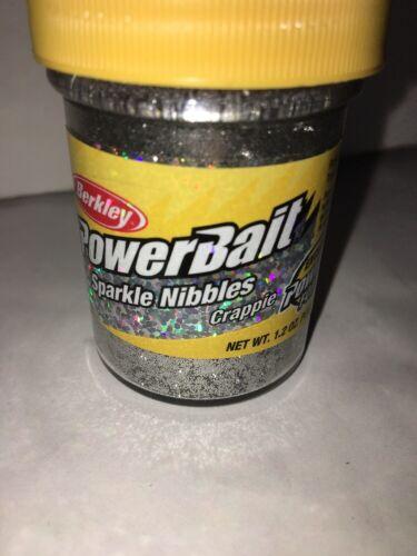 platinum Berkley Fishing 1061621 Powerbait Crappie Sparkle Nibbles Dough Bait