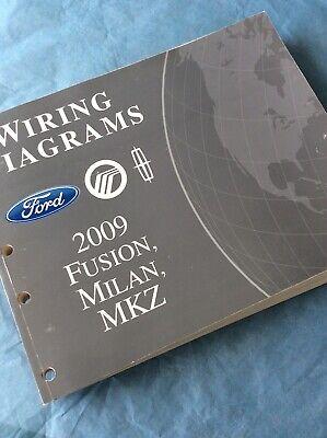 2009 Ford Fusion Milan MKZ EVTM Wiring Diagrams Manual ...
