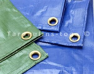 Waterproof Tarpaulin Ground Sheet Lightweight Camping Cover Tarp with Eyelets