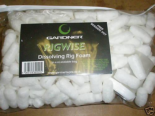 Gardner dissolving PVA Foam nuggets  Fishing tackle