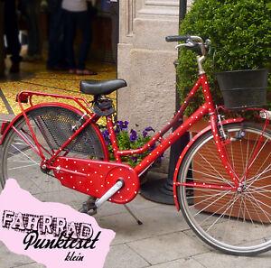 Fahrrad Aufkleber Fahrradaufkleb<wbr/>er Fahrrad Sticker Punkte Tattoo *100 Stk* M682