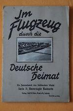 Sammelbilderalbum Im Flugzeug durch die Deutsche Heimat Serie 3, Helff & Stein