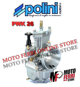 CARBURATORE-POLINI-PWK-26-GILERA-50-DNA-EASY-MOVING-ICE-STALKER-STORM-RUNNER-SP