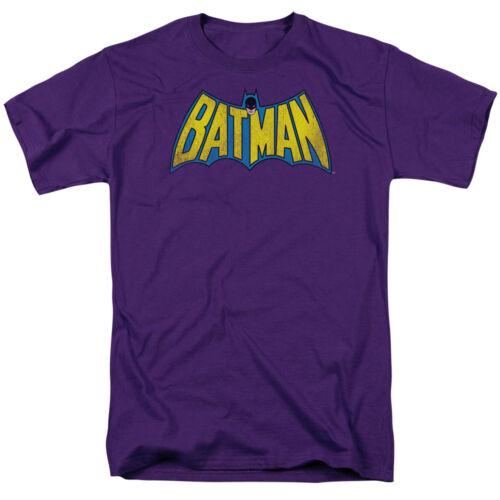 CLASSIC ORIGINAL BATMAN LOGO DISTRESSED Adult T-Shirt All Sizes