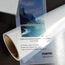 A4 Size Screen Plate Making Inkjet Laser Transparency Film Screen Print 20pcs