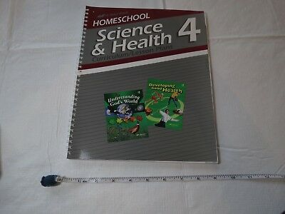 Homeschool Science Health curriculum lesson plan book A Beka home school grade 4