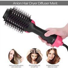 2 In1 Multifunctional Hair Dryer Volumizer Rotating Hot Hair Brush Curler Roller