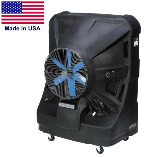 "24/"" Blade 120V 8500 CFM 55 Gal Tank Portable SWAMP COOLER 2125 sqft"
