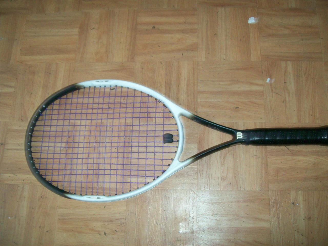 Wilson Hammer 6.2 OS 110 4 1 2 grip Tennis Racquet