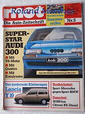 MOT 5-85+BMW M 535+MERCEDES 190 E 2.3-16+TOYOTA CELICA+CITROEN BX+FIAT UNO+AUDI