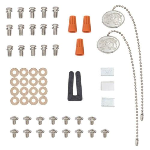 Hollandale 52 in Brushed Nickel Ceiling Fan Replacement Parts