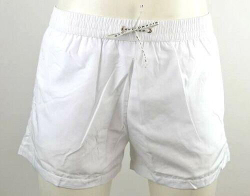 Homme Boxer Court Richmond Mode Bain Maillot De John Blanc Shorts f041nq5v4p