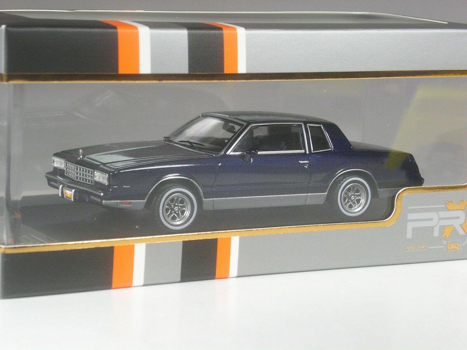 Klasse Klasse Klasse  PremiumX Chevrolet Monte Carlo 1981 in 1 43 in OVP b57716
