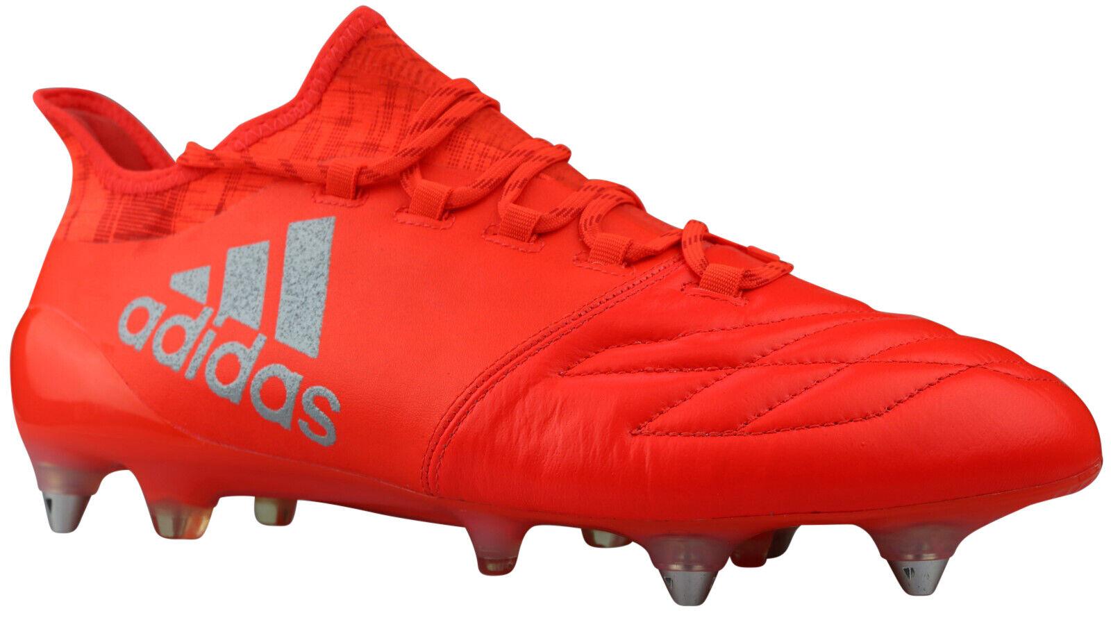 Adidas X 16.1 SG Fußballschuhe Leder Stollen rot S81973 Gr. 40,5 - 45 NEU & OVP    Bekannt für seine hervorragende Qualität