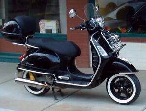 "Atlas 10"" Motorcycle White Wall Portawall Tyre insert Trim Piaggio Vespa Scooter"